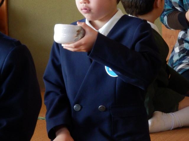 お茶会(年長児)