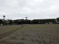 新里総合グランド、広いです~。みんな、どこ?