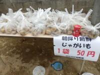 利益を得るためではなく、地域サービスとして♪1袋50円は破格の値段!