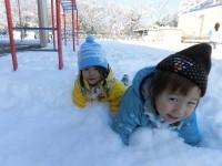 雪でおぼれちゃう~っ^^