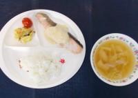 5.24鮭のコーンソース
