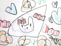 カタログ期の絵・5歳のお子さん