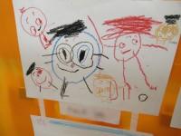 象徴期の絵・4歳のお子さん。5歳が近いのでカタログ期に入ってきています