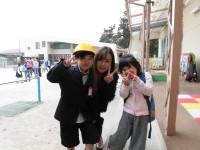 お兄ちゃんの入学式が終わり、今日は早お迎え。