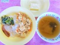 6.25炒り卵豆腐丼