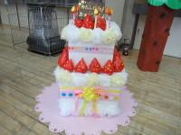 ひよこ組が作ったお誕生ケーキ