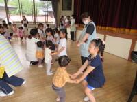 小さい組とフォークダンス